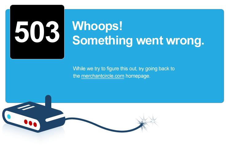 MerchantCircle.com | Site Temporarily Offline